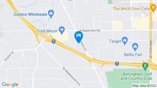 Home2 Suites by Hilton Bellingham Airport Map