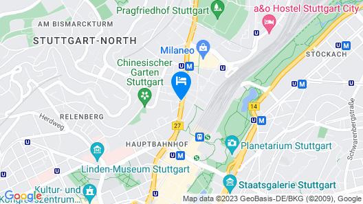 ARCOTEL Camino Map