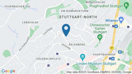 Hotel Azenberg Map