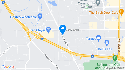 TownePlace Suites by Marriott Bellingham Map