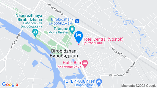 Vostok Hotel Map