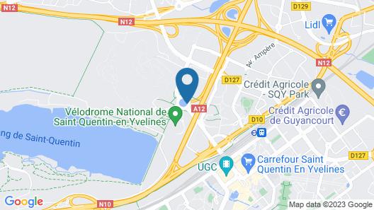 ibis budget Saint Quentin en Yvelines Velodrome Map