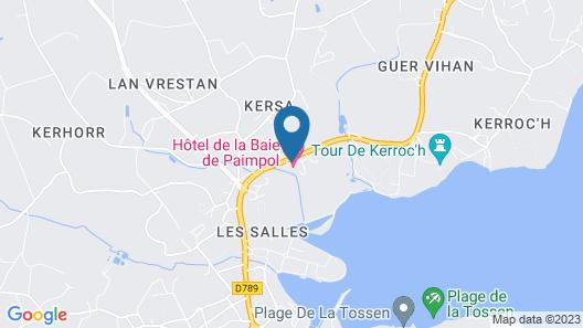 Hôtel de la Baie de Paimpol Map