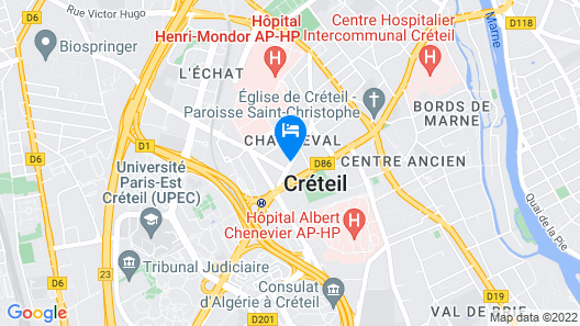 20 Min de Paris - Villa de LUXE Map