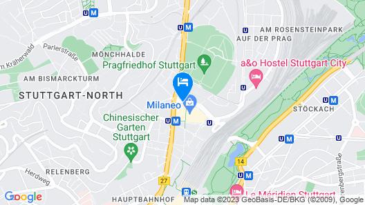Jaz in the City Stuttgart Map
