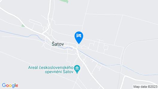 Penzion Šatovské Lípy Map
