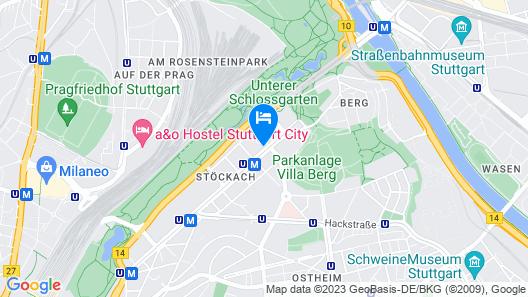 Hotel Stern Map