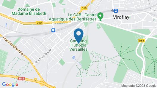 Huttopia Versailles Map