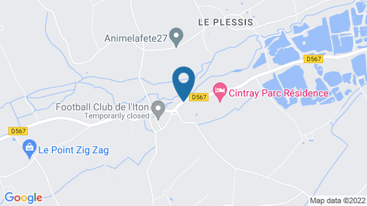 Résidence Cintray Parc Map