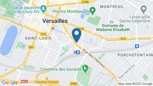 Hôtel Versailles Chantiers Map