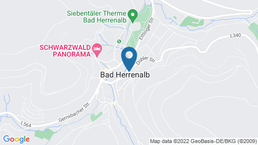 Parkhotel Luise Map