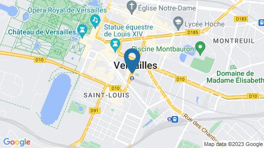 ibis Versailles Château Map
