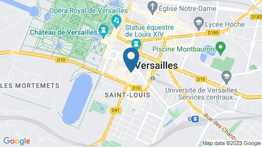 Les Apparts de l'Oncle Louis Map