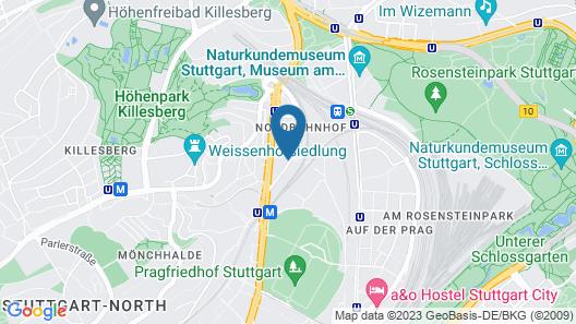 ibis Stuttgart City Map