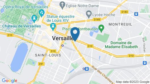 A l'Hotel des Roys Map