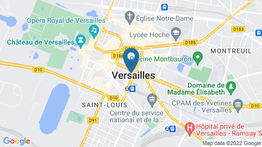 Hotel Le Louis Versailles Château MGallery Map