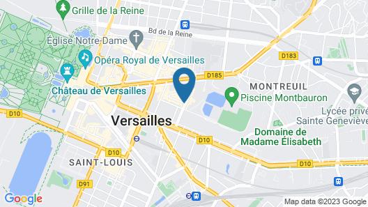 Mercure Versailles Chateau Map