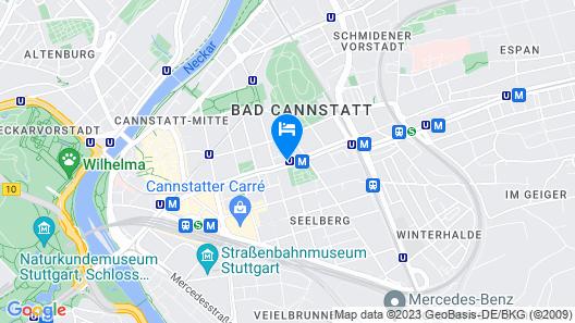 Hotel Spahr Map