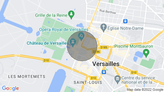 Furnished Luxury Apartment Within 50 Meters of the Palace of Versailles Map