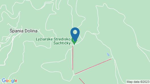 Hotel Šachtička Map