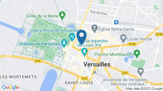Hotel Le Versailles Map