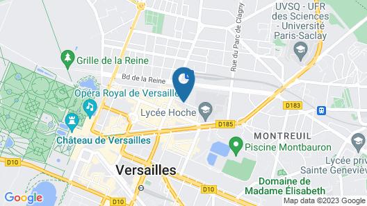 HOTEL DES LYS Map