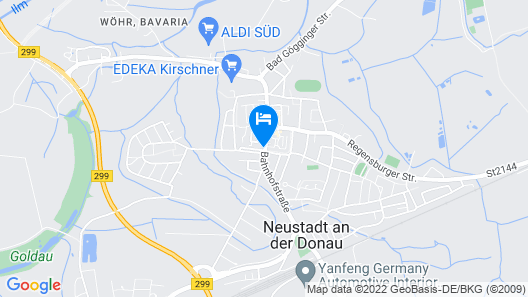 Boardinghouse Neustadt Map