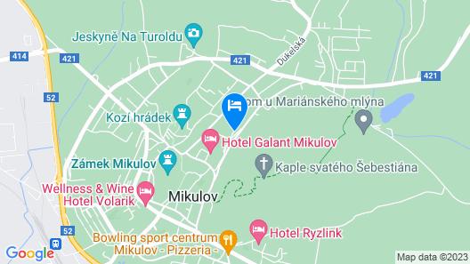 Mikulov Inn - hotel a vinný sklep Venuše Map