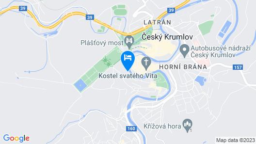 Vltavská pohádka Map