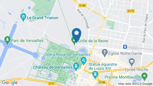 Waldorf Astoria Versailles - Trianon Palace Map