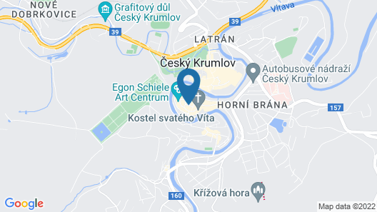 Hotel Zlaty Andel Map