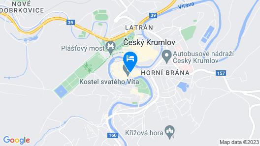 Hotel Konvice Map
