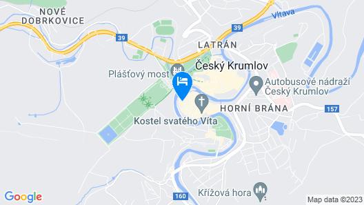 Krumlovská pohádka Map