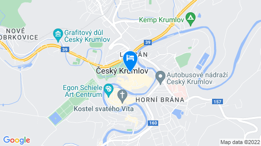 Hotel Latrán Map