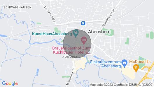 Geräumiges Appartement für 1 Person Inmitten von Abensbergs Historischer Altstadt Map