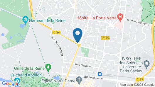 Novotel Chateau De Versailles Map