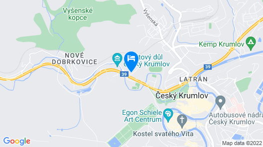 Pension Fialka Map