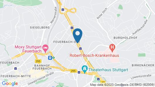 Motel One Stuttgart Map