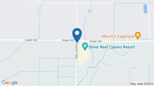 Silver Reef Casino Resort Map