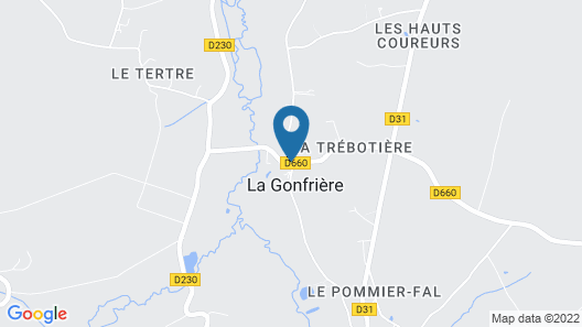Gite La Gonfrière, 4 Bedrooms, 8 Persons Map