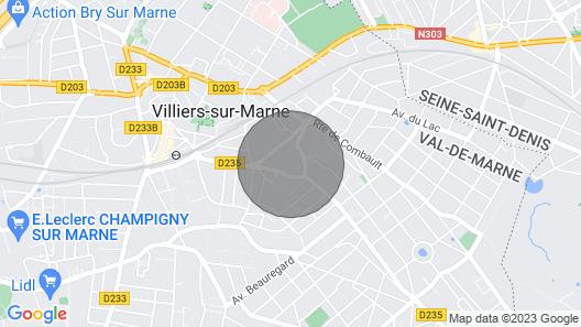 ⭐ Schöne Wohnung - In der Nähe von Paris und Disney ⭐ Map