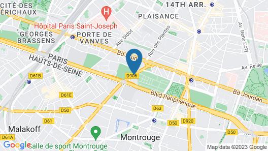 hotelF1 Paris Porte de Châtillon (rénové) Map