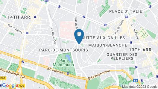 Hotel B55 Map
