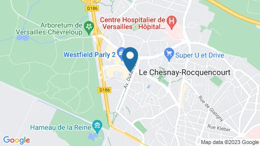ibis Versailles Parly 2 Map
