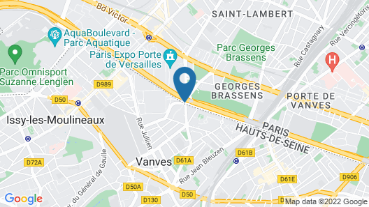 Mercure Paris Porte de Versailles Expo Map