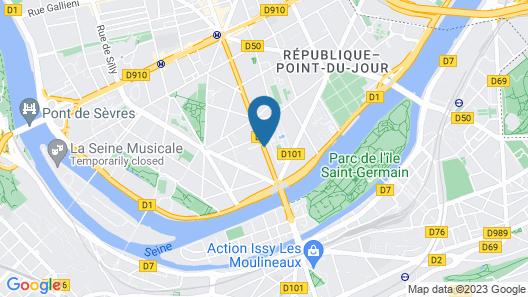 Timhotel Boulogne Rives de Seine Map