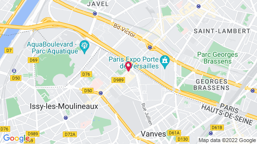 Courtyard by Marriott Paris Porte de Versailles Map