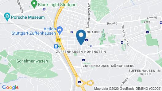 Hotel Hafner Map