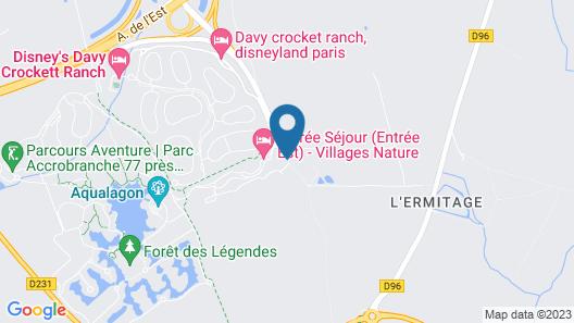 Villages Nature Paris at Disneyland® Paris Map