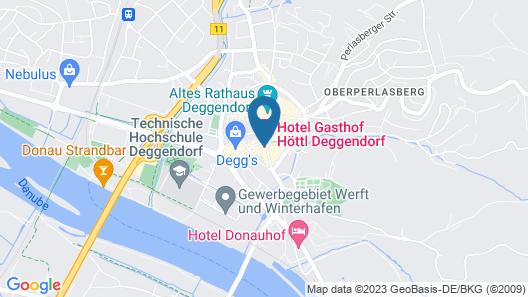 Hotel-gasthof Höttl Map